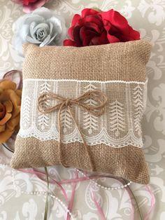 Rustic Ring Bearer Pillow & vintage ring bearer pillow ideas - Google Search | Wedding Ideas ... pillowsntoast.com