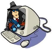 un spyware es definido como un software que entra a nuestra computadora sin nuestro permiso, escondiendose, mientras hace pequeñas alteraciones que afectan la utilizacion de la misma. Un ejemplo son las ventanas de publicidad que aparecen cuando estamos utilizando el internet.