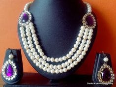 Pearl necklace...