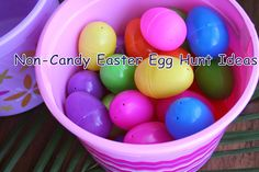 The Healthy Happy Wife: Easter Egg Hunt Ideas without Candy