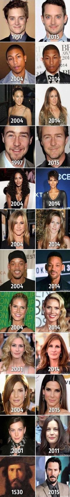 Some Celebrities Are Ageless – 12 Pics