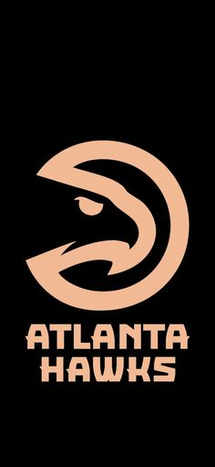 I wanted a phone wallpaper with the Hawks logo in the peachtree color so I made one. Feel free to use my fellow Hawkers. Nba Background, Hawk Logo, Dark Green Aesthetic, Nba Wallpapers, Nba Champions, Atlanta Falcons, Black Wallpaper, Swagg, Opportunity