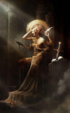 ArtStation - PENEMUE / Angel of Script, Bastien Lecouffe Deharme