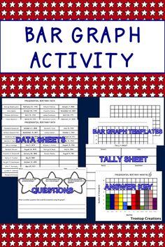 No prep bar graph activity using presidential birthday data. $1.50