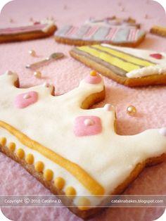Catalina pece: Výzva The Daring Bakers: Cukrové sušenky s královskou polevou