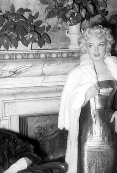 Marilyn at opening night of Cat on a Hot Tin Roof, photo by Ed Feingersh, - March 1955.
