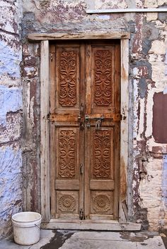 Doors - Jodhpur, India by To Uncertainty And Beyond, via Flickr