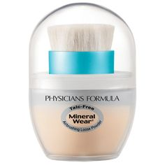 FULL coverage mineral powder that is fragrance free and talc free, cruelty free. This works wonders on my oily skin!