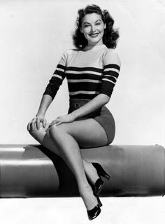 Ava Gardner, 1944. When women were so womanly and men were such men. You just don't see beauty like this any more
