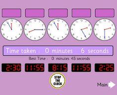 Tick Tock- TIME!