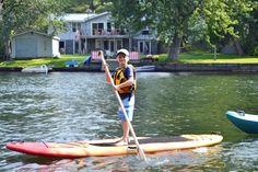 Learning to SUP | The Perfect Family Cottage Getaway Is Closer Than You Think | UrbanMoms