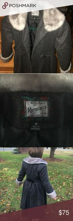ROTHSCHILD WINTER COAT BEAUTIFUL AUTHENTIC ROTHSCHILD...SIZE 10... Rothschild Jackets & Coats