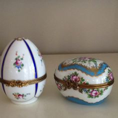 Limoges - Beautiful Egg Boxes