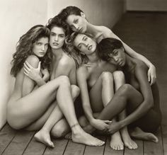 By fashion photographer Herb Ritts