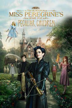 Miss Peregrine's Home for Peculiar Children, Tim Burton, Asa Butterfield, Eva Green, Ella Purnel