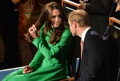 Catherine, Duchess of Cambridge and Prince William, Duke of Cambridge attend a reception at Parliament House