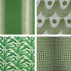 Green Upholstery Fabrics