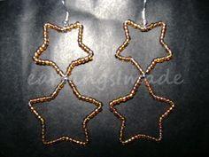 UpsideDownStars earrings
