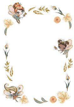 Fairy Invitations, 1st Birthday Invitation Template, Frozen Invitations, Baby Shower Invitation Templates, Fairy Birthday Party, Garden Birthday, Fairy Baby Showers, Pinturas Disney, Baby Fairy