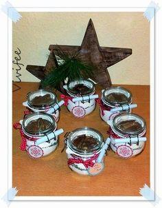 Dieses Jahr mal was anderes :-) Sonst habe ich oft Kekse zu Weihnachten gebacken und verschenkt. Dieses Mal wollte ich was, das man nach Wei...