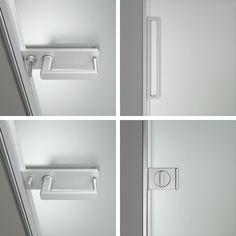 le quattro maniglie disponibili per la porta Zen