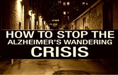 Alzheimer's wandering is one of the biggest problem behaviors that caregivers must deal with. Learn about the steps we can take to help stop the Alzheimer's wandering crisis. Alzheimer Care, Dementia Care, Alzheimer's And Dementia, Best Gps Tracker, Vascular Dementia, Alzheimers Awareness, Aging Parents, Elderly Care, Caregiver