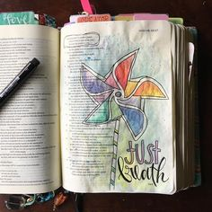 Bible Journaling by Nichole @goosekeeperphoto | Isaiah 26:3