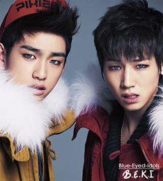 BLUE EYED K-POP IDOLS: #405  Park Jinyeong (JR) +Im Jaebum (JB)- JJ Project