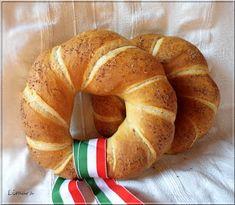 Limara péksége: Csavart koszorú, az ünnepi kenyér Bagel, Lime, Bread, Cooking, Food, Kitchen, Limes, Brot, Essen