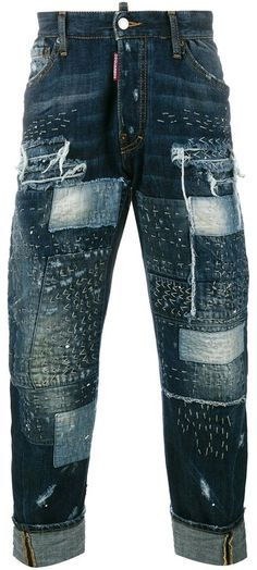 Dsquared2 distressed jeans Distressed Jeans, Dsquared2, Mens Fashion, Hippie Bohemian, Man Style, Denim, Stylish, Pants, Clothes