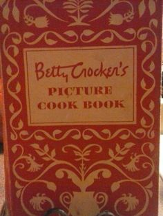 My greatgrandma gave me this beautiful 1950s cookbook.