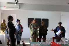 Curator Bisi Silva talks about the Valerie Oka exhibition