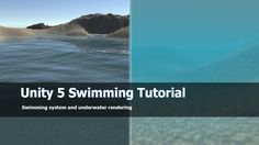 Unity 5 Swimming System and tutorial : Free asset Unity Games, Unity 3d, Unity Tutorials, Game Programming, 3d Tutorial, Game Engine, Game Dev, Unreal Engine, Game Assets