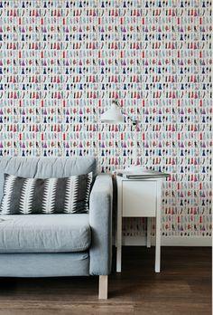 Princess Diana Repeat Wallpaper - 24x108