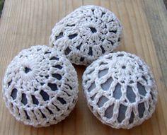 Crocheted River Stones / Beach Rocks, Set of 3. https://www.etsy.com/listing/240258864/crocheted-river-stones-beach-rocks-set?ref=shop_home_active_1 #home #decor #homedecor #art #homeart #practicalart #functionalart #etsystore #onlinestore #onlineshopping #homedecorshopping #crochet #crochetdesign #stones #riverstones #beachstone #crochetedstones #crochetedriverstones #crochetedbeachrocks
