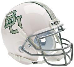 Baylor Bears Schutt XP Mini Helmet - White Camo