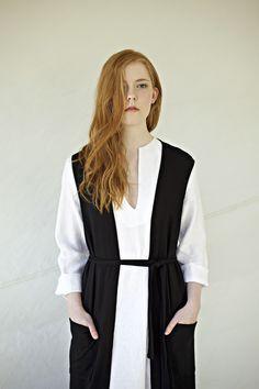 minimalistic design, linen and merino wool.