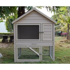 Barrington Townhouse Rabbit Hutch   Overstock.com Shopping - The Best Prices on New Age Pet Other Pet Houses