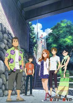 La película de Ano hi mita hana no namae wo bokutachi wa mada shiranai. (AnoHana) se estrenará el 31 de agosto de este año