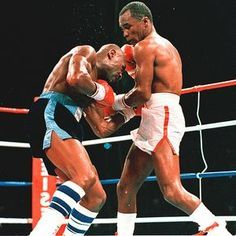 Sugar Ray Leonard and Marvin Hagler Marvelous Marvin Hagler, Star Trek Posters, Professional Boxing, Boxing History, Boxing Champions, Boxing Quotes, Combat Sport, Sports Figures, Boxing Workout