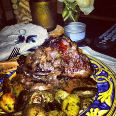 Lamb Shanks with Gremolata and Baked Polenta | Recipe | Braised Lamb ...