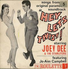 Joey Dee & The Starliters, Jo Ann Campbell - Hey Let's Twist ! (Vinyl) at Discogs