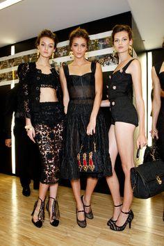 Dolce & Gabbana at Milan Spring 2012 (Backstage)