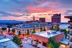 Beautiful Asheville, North Carolina