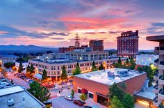 Beautiful Asheville, North Carolina