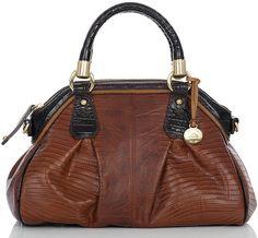 Brahmin Brahmin Lisa Dome Satchel Bag - Polyvore