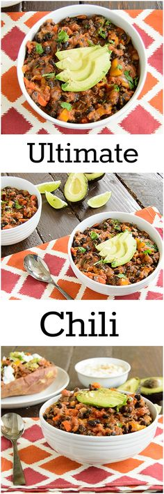 ... ---Chili on Pinterest | Turkey Chili, Chilis and Black Bean Chili
