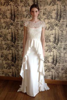 Temperley white wedding gown
