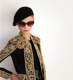 2d0adf6643a Anna Selezneva for the Ralph Lauren Eyewear Summer 2013 Campaign Spanish  Hat
