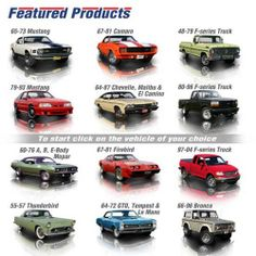 Want to see the latest parts to hit our shelves at National Parts Depot? Click here: http://www.npdlink.com/store/catalog/Featured_Products-6386-1.html